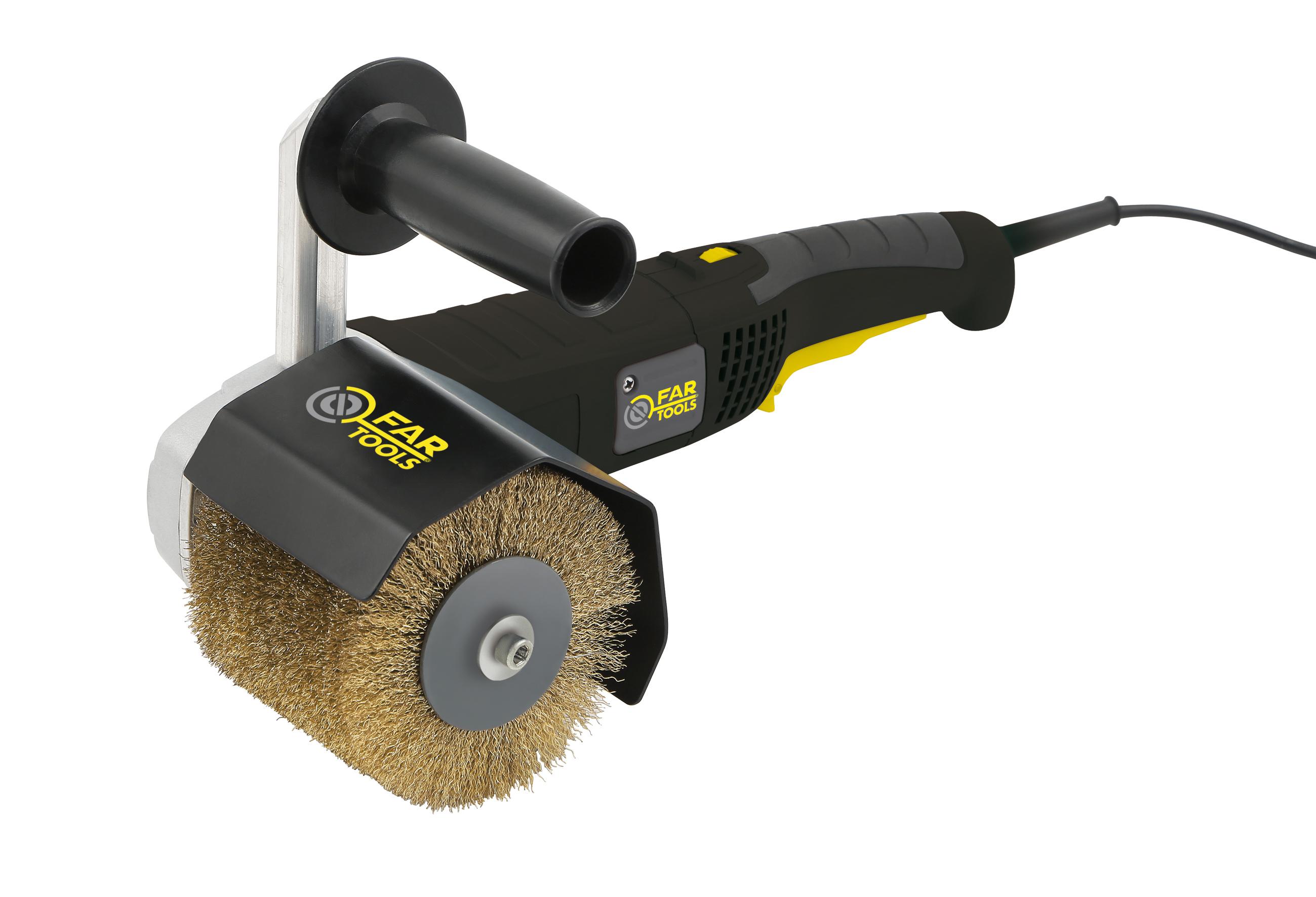Ponceuse d capeuse r novateur ext rieur fartools rex120b for Produit pour decaper le bois