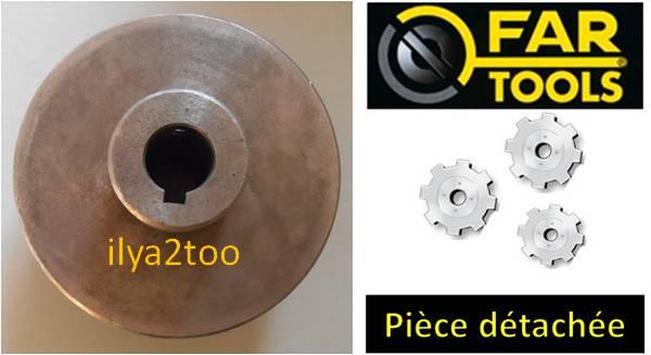 poulie moteur pour tour m taux tdm400 fartools 114135 ilya2too. Black Bedroom Furniture Sets. Home Design Ideas