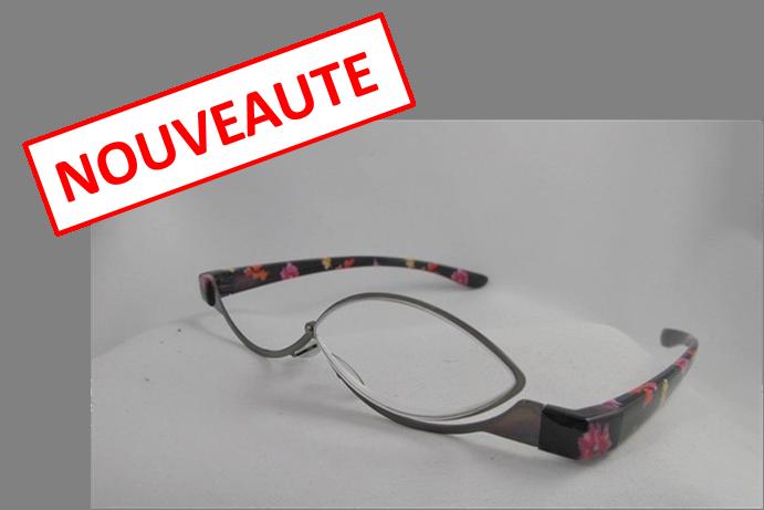 lunettes de maquillage monture fleurie ilya2too. Black Bedroom Furniture Sets. Home Design Ideas