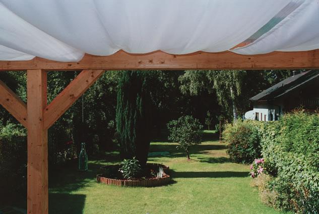voile d 39 ombrage sur cable peddy shield 420x140cm coloris unis ilya2too. Black Bedroom Furniture Sets. Home Design Ideas