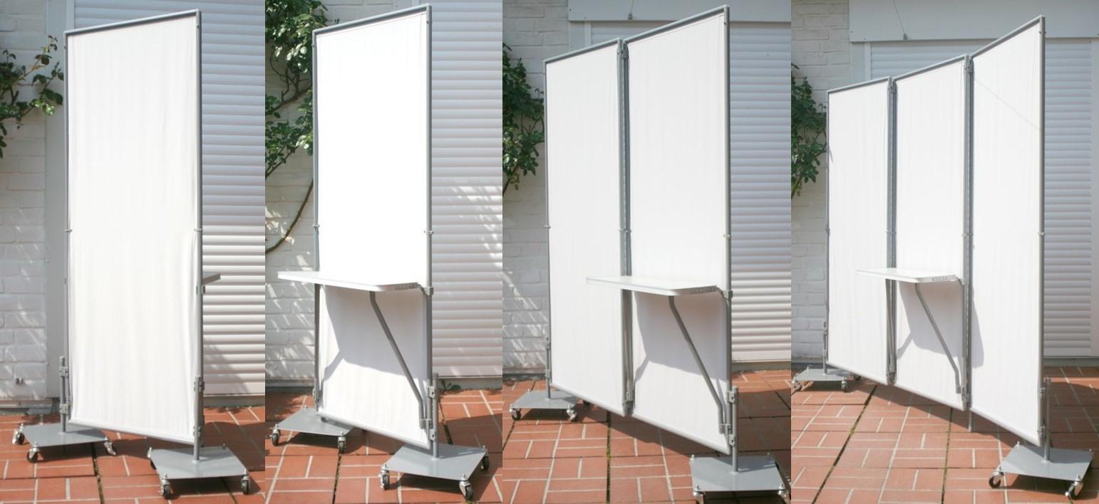 pied roulettes pour paravent peddy shield ilya2too. Black Bedroom Furniture Sets. Home Design Ideas