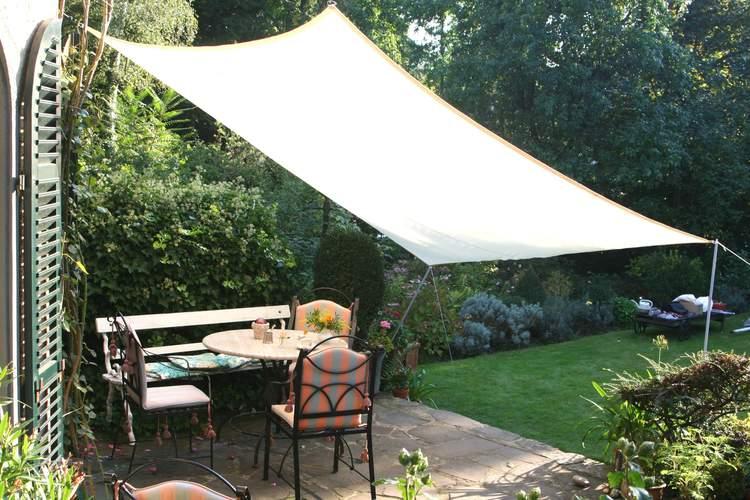 piquet de soutien en m tal pour voile solaire ilya2too. Black Bedroom Furniture Sets. Home Design Ideas