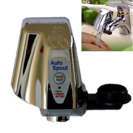 Robinet automatique infrarouge chrom ilya2too - Robinet automatique a detecteur infrarouge ...