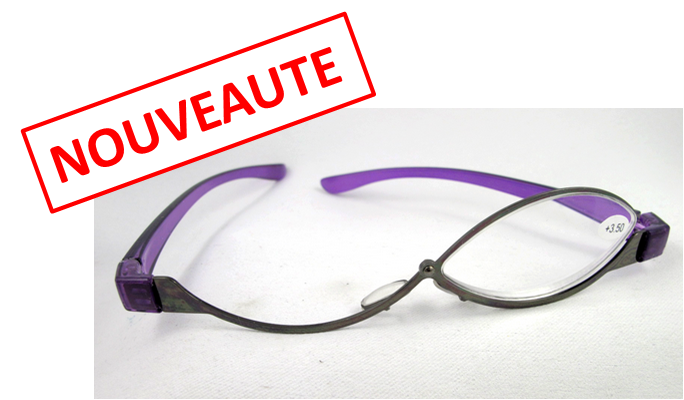 lunettes de maquillage monture mauve ilya2too. Black Bedroom Furniture Sets. Home Design Ideas