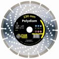 "Disque diamant ""polydiam""  diam 230 mm (119100) FARTOOL"