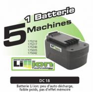 Batterie Tension 18 V Li-ion FARTOOLS (175814)