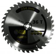 Lame 36 dents d 255mm al 16mm  pour scie  Fartools