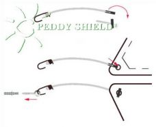 Kit de fixation pour voile triangulaire Peddy Shield