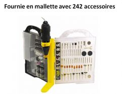 Mini meuleuse 130 W  DC 130 Fartools