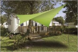 Voile ombrage  imperméable 4.2 X 3 m Vert anis