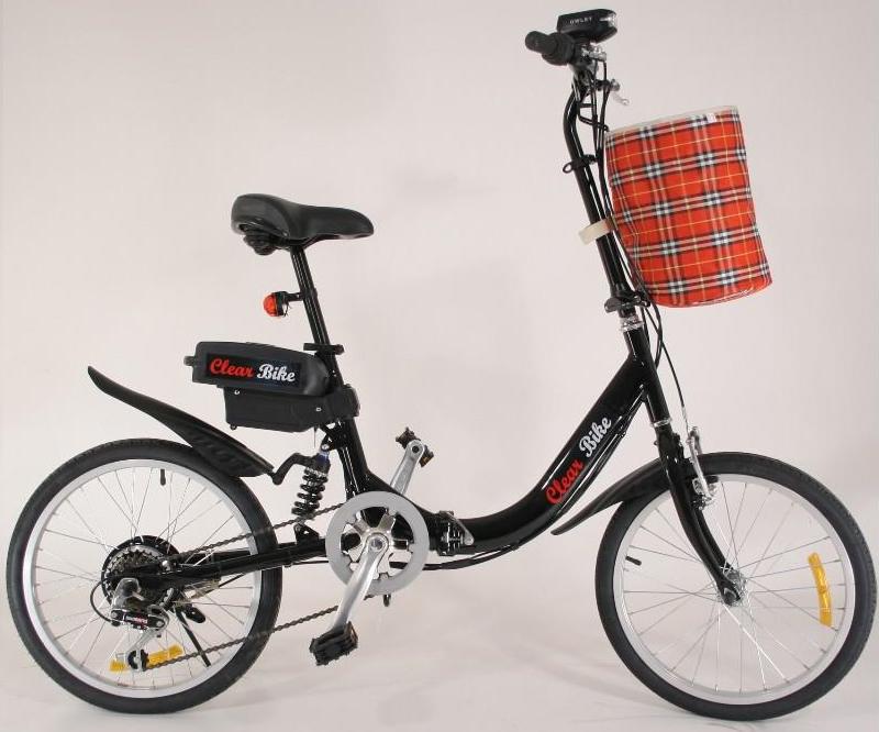 velo electrique pliant clear bike ilya2too. Black Bedroom Furniture Sets. Home Design Ideas
