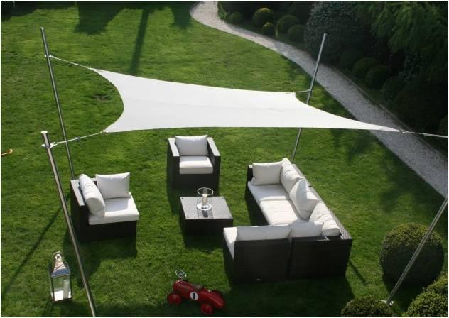 voile ombrage imperm able rectangulaire sur mesure jusqu 39. Black Bedroom Furniture Sets. Home Design Ideas